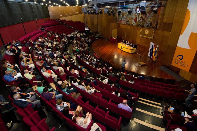Acto de entrega de los Premios de Fin de Título 2014