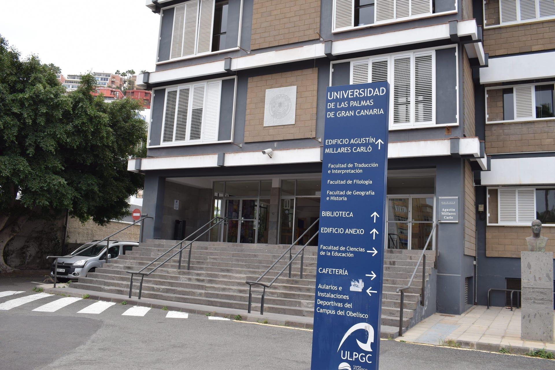 Entrada Edificio Humanidades