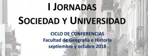 I Jornadas Sociedad y Universidad